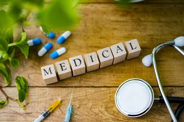 medicalの文字羅列