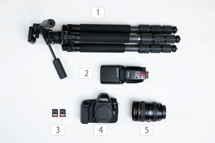 初心者向け 必要なカメラの機材