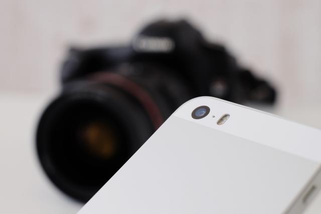 カメラとスマートフォン