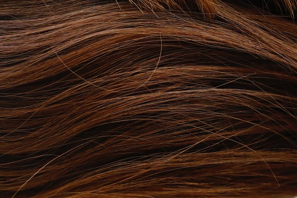 フルサイズで撮影した髪の毛
