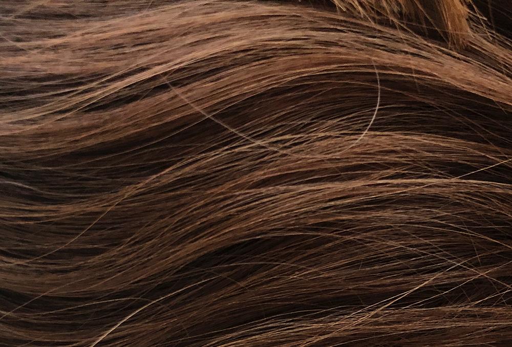 """""""スマホで撮影した髪の毛"""